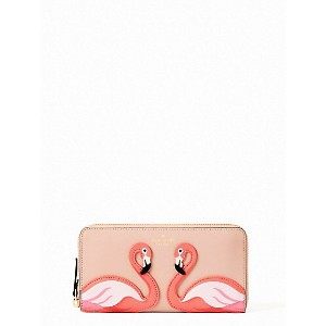 kate spade new york/ケイト・スペード  BY THE POOL FLAMINGO LACEY(PWRU6388) MULTI(974) 【三越・伊勢丹/公式】 財布~...