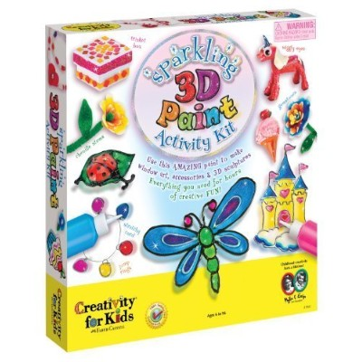 Sparkling 3D Paint Activity Kit by Creativity For Kids [並行輸入品]