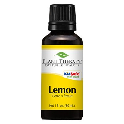 Lemon Essential Oil (Steam Distilled) 100% Pure, Undiluted, Therapeutic Grade. (30 ml (1 oz)) by...