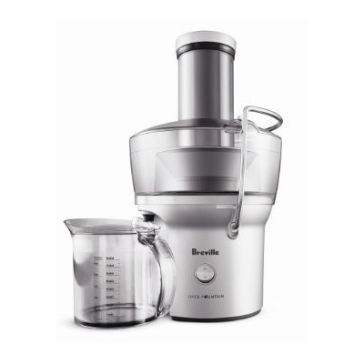 Breville Compact Juicer Juice Fountain - BJE200XL/ Internal Pulp Collector Allows You To【並行輸入】