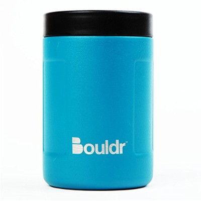 bouldr Insulated–プレミアムスチールCanクージー–12oz Can Cooler ブルー Can Cooler