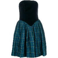 Byblos Vintage tartan dress - グリーン