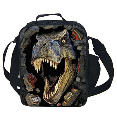 (DINOSAUR) - CARBEEN 3D Animal Dinosaur Insulated Lunch Box Cooler Bag