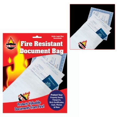 Fire Resistant Document Bag - 9 inch by 14 inch (fls) by Billiards [並行輸入品]