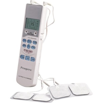 MDI Dimensions Prospera Electronic Pulse Massager with Tens Therapy and LCD Display by MDI Dimensions Prospera