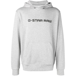 G-Star Raw Research logo hoodie - グレー