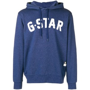 G-Star Raw Research logo hoodie - ブルー