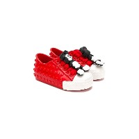 Mini Melissa mickey mouse sneakers - レッド