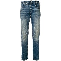 G-Star Raw Research aged antic destroyed jeans - ブルー