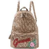 ゲス GUESS URBAN SPORT LEEZA BACKPACK (BROWN) レディース