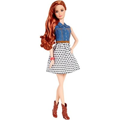 バービー バービー人形 ファッショニスタ 日本未発売 CJY41 Barbie Fashionista Teresa Doll Jean Shirt and Black and White...