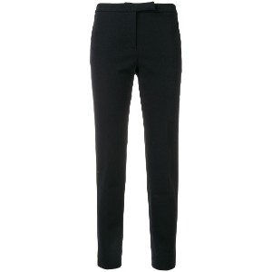 Peserico cropped slim-fit trousers - ブルー