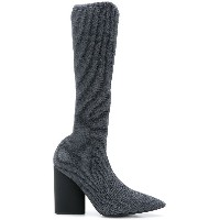 Yeezy pointed toe boots - グレー