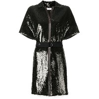 Chloé belted sequin dress - グリーン