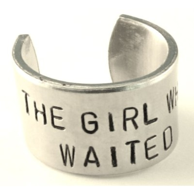 The Girl Who Waited–Doctor Who inspired-調節可能なアルミリング