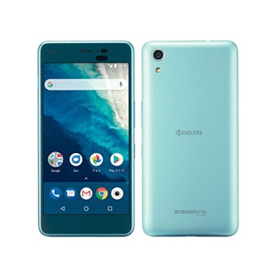 Android One S4 ワイモバイル ライトブルー 白ロム