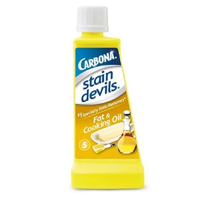Carbona Stain Devils #5, Fat & Cooking Oil, 1.7-Ounce Bottle by Carbona