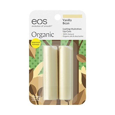 EOS LIP BALM VANILLA BEAN(2PACK)