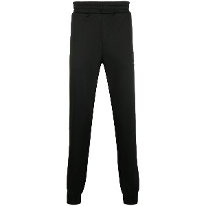 Plein Sport elasticated waist track pants - Black