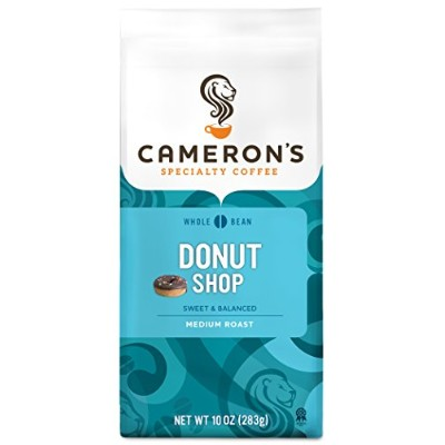 Cameron's Whole Bean Coffee, Donut Shop Blend, 10 Ounce by Cameron's Coffee