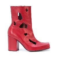 Charles Jeffrey Loverboy cut-out detail heel boots - レッド