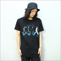 ◎THE BEATLES TシャツABBEY STRIDE 黒