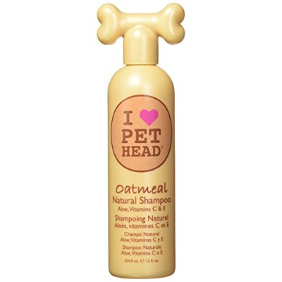 I Love Pet Head Oatmeal Natural Shampoo - 12 Ounce For Dogs and Cats