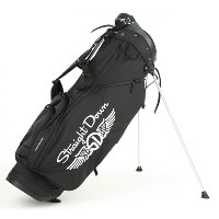 Straight Down Collegiate Stand/Carry Golf Bag キャディバッグ 【ゴルフ バッグ>スタンドバッグ】