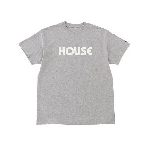 IN THE HOUSE  HOUSE TEE グレー/ホワイト 【三越・伊勢丹/公式】 メンズウエア~~Tシャツ