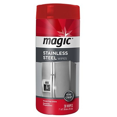 Magic Stainless Steel Cleaner, 30 Count by Magic