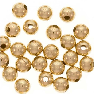 14k Gold Filled Little Round Beads 2.5mm (50) by UnCommon Artistry [並行輸入品]