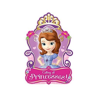 Sofia the First Invitations (8) Invites Cards Birthday Party Supplies by Amscan [並行輸入品]
