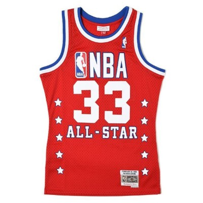 【送料無料】MITCHELL & NESS SWINGMAN JERSEY ALL-STAR EAST 89 #33 EWI【BA84JNASERC06-RED】