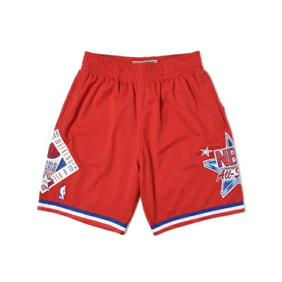 【送料無料】MITCHELL & NESS SWINGMAN SHORT ALL-STAR WEST 1991【BA34KJASWRC0Z-RED】