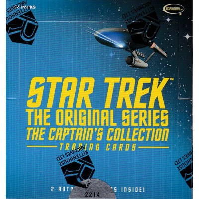 スタートレック 2018 Rittenhouse Star Trek The Original Series Captain's Collection Trading Cards 7/27入荷!