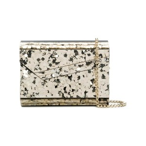 Jimmy Choo Candy clutch - メタリック