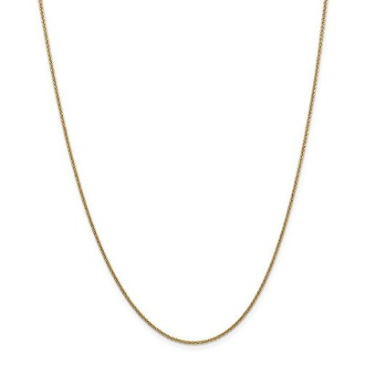 14K Yellow-gold 14k 1.5mm Cable Chain
