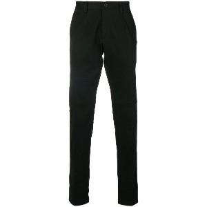 Philipp Plein tailored fitted trousers - ブラック