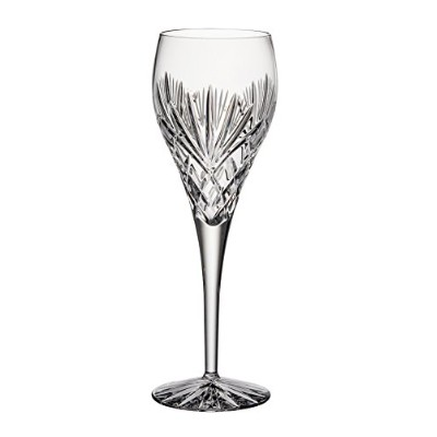Barski - Hand Cut - Mouth Blown - Crystal - Tall Wine Glass - Goblet - 380ml - Majestic Design -...