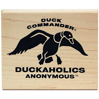 KellyCraft Innovations DC-50077 Duck Commander Duckaholics Anonymous Wood Mount Stamp by KellyCraft...