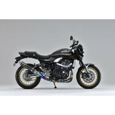 OVER GP-PERFORMANCE チタンカーボン 焼無 Z900RS 18 《オーヴァー 25-71-011》