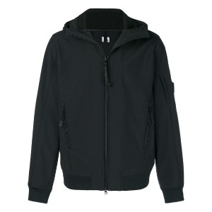 CP Company zipped hooded jacket - ブラック