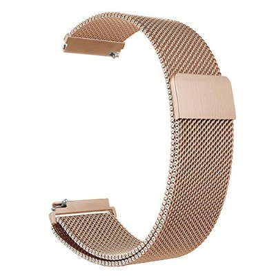 For Garmin Vivoactive 3Watch、baaletc交換用メタルメッシュMilanese Watch Band with磁気ロックfor Vivoactive 3