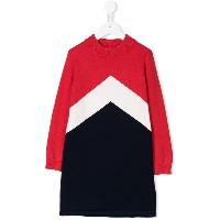 Tommy Hilfiger Junior カラーブロック ワンピース - レッド