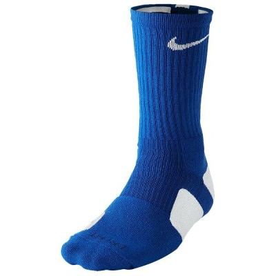 ナイキ メンズ バスケットボール【Elite Basketball Crew Socks】Game Royal/White