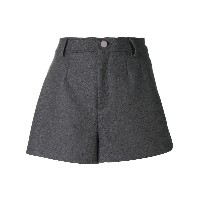 Red Valentino wide shorts - グレー