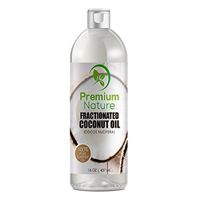 Fractionated Coconut Oil Massage Oils - Liquid MCT Natural & Pure Body Oil Carrier Massage Oil -...