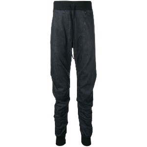 Lost & Found Rooms pleated leg track pants - グレー