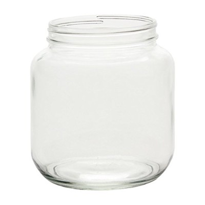 North Mountain Supply 1/2ガロンガラスwide-mouth 110CT Fermentation/Canning Jar with Lid 1/2 Gallon ゴールド...