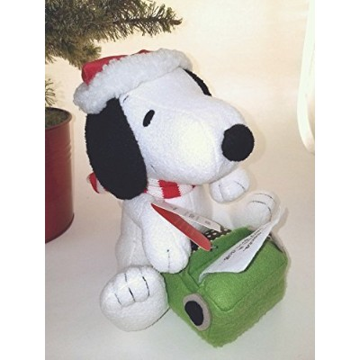 ホールマーク2017 Writing to Santa Snoopy Peanuts Techno Plush